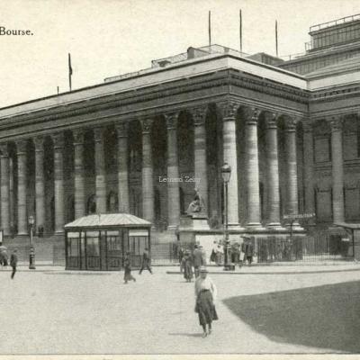 Inconnu - PARIS - La Bourse
