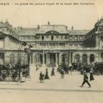Inconnu - PARIS - La place du palais royal et la cour des Comptes
