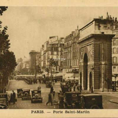 Inconnu - PARIS - La Porte Saint-Martin