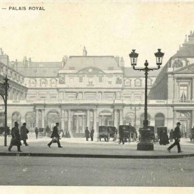 Inconnu - PARIS - PALAIS ROYAL
