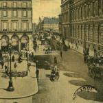Inconnu - PARIS - Perspective de la Rue de Rivoli