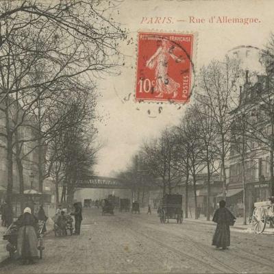 Inconnu - PARIS - Rue d'Allemagne