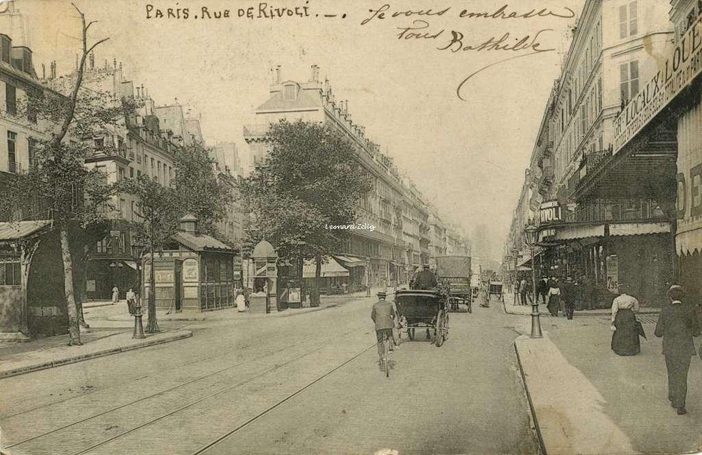 Inconnu - Paris - Rue de Rivoli