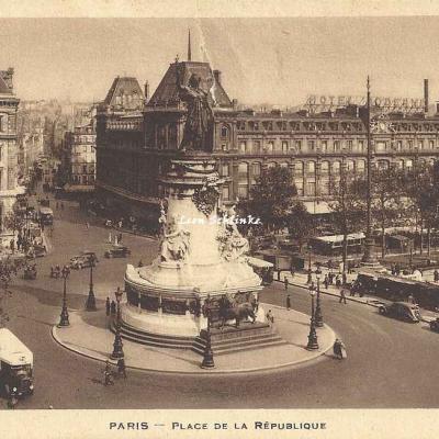 Inconnu - Place de la République