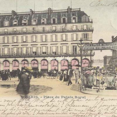Inconnu - Place du Palais Royal
