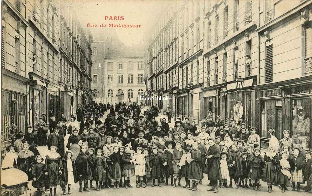Inconnu - Rue de Madagascar