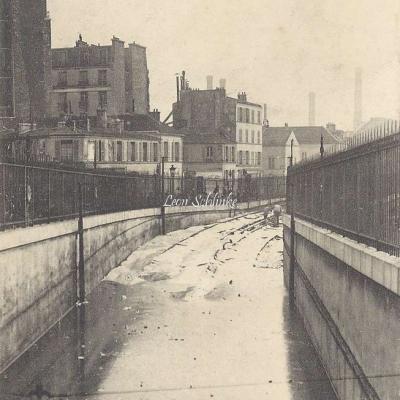 EDM - Inondation de la Voie du Métro à Austerlitz