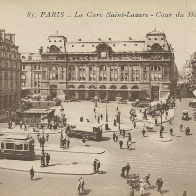 IPM 85 - Paris - La Gare Saint-Lazare - Cour du Hâvre
