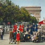 Iris (Chantal) 639 - L'Arc de Triomphe vu des Champs-Elysées