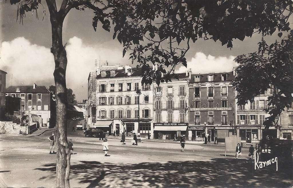 Raymon 396 - Ivry - La Place de l'Eglise