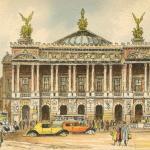 Barré-Dayez - Série 2012 - PARIS, l'Opéra