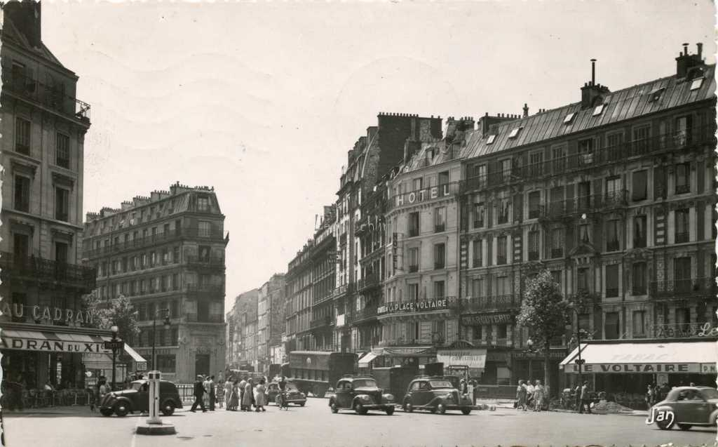 Voltaire for 4 rue richard lenoir