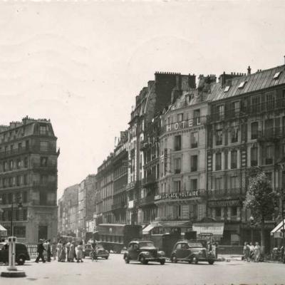 Jan 200 - Paris - Place Voltaire, Bd Voltaire et Rue Richard-Lenoir