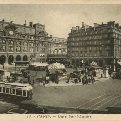 Jan 23 - Gare Saint-Lazare