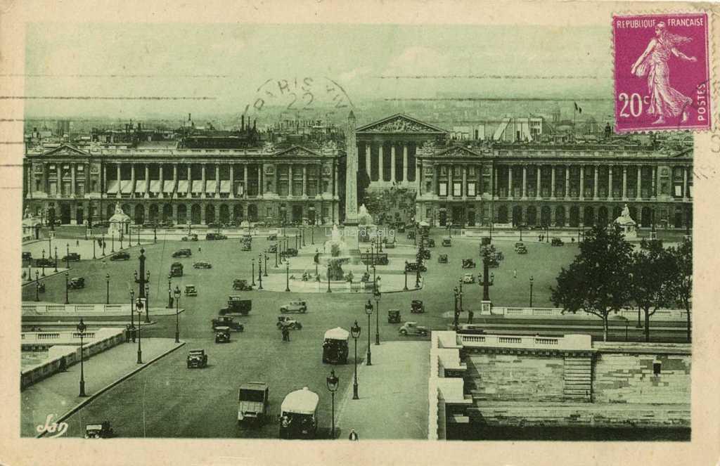 Jan 53 - Le Pont et la Place de la Concorde