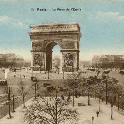 Jan 57 - La Place de l'Etoile