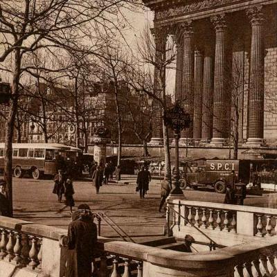 JAN 59 - La Madeleine et le Marché aux Fleurs