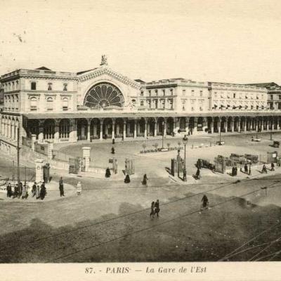 Jan 87 - La Gare de l'Est