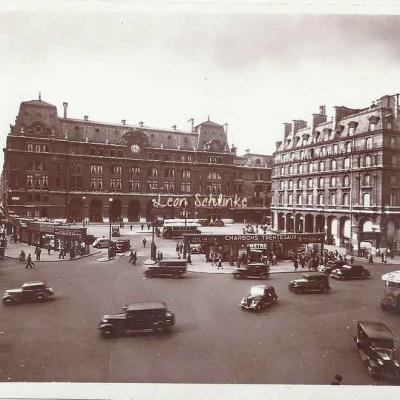Jan - La Gare Saint-Lazare et la rue de Rome