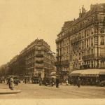 Jan - Paris - La Place Voltaire et le Boulevard