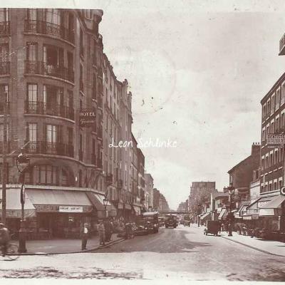 Jan - La rue d'Avron au Boulevard Davout