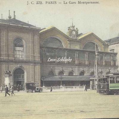 JC 572 - La Gare Montparnasse