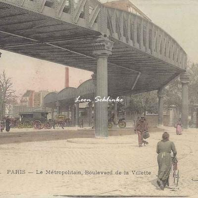 JCD 400 - Le Métropolitain, Boulevard de la Villette