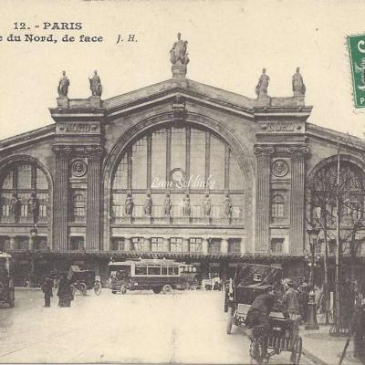 JH 12 - Gare du Nord, de face