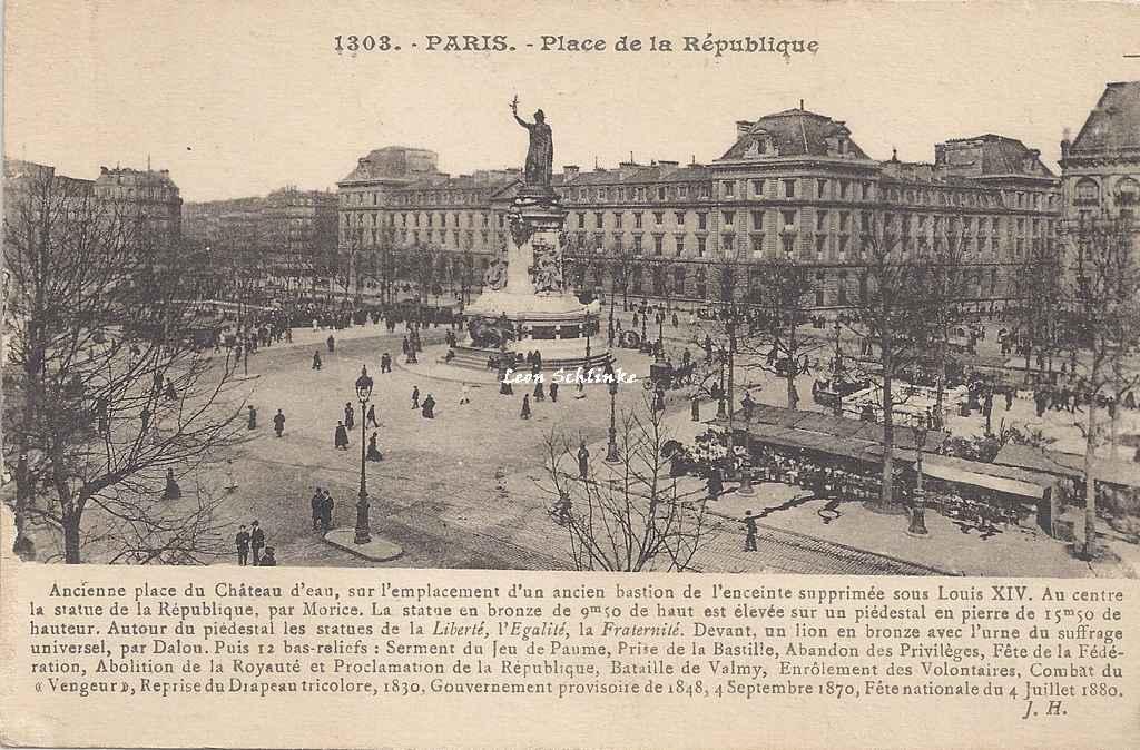 JH 1303 - Place de la République
