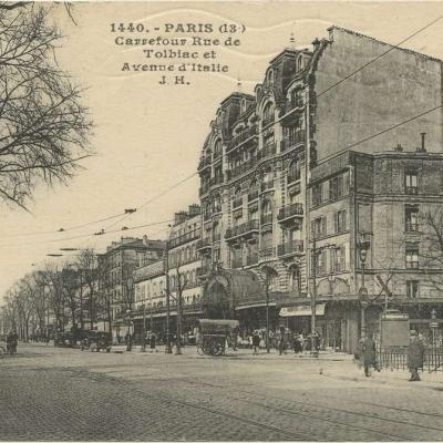 JH 1440 - Carrefour Rue de Tolbiac et Avenue d'Italie