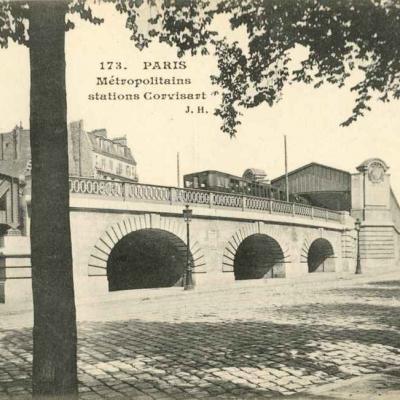 JH 173 - Métropolitains stations Corvisart
