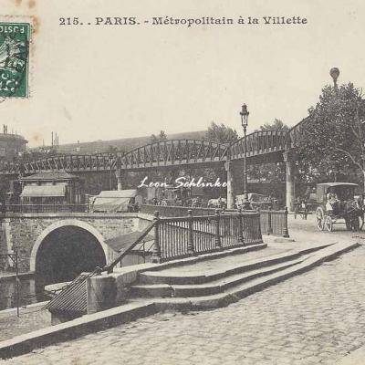 JH 215 - Métropolitain à la Villette
