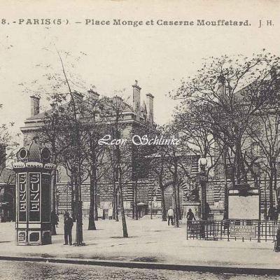 JH 28 - Place Monge et Caserne Mouffetard
