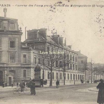 JH 30 - Caserne des Pompiers et Station du Métro (Reuilly)