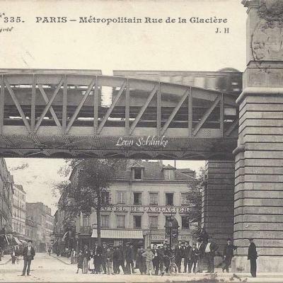 JH 335 - Metropolitain Rue de la Glacière