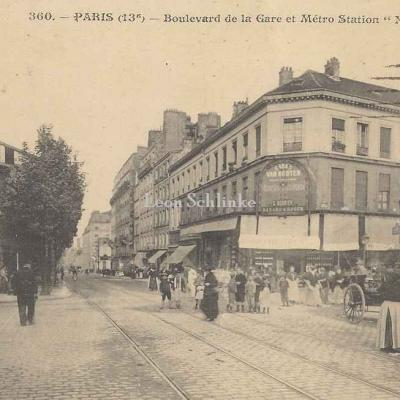 JH 360 - Boulevard de la Gare et Métro Station Nationale