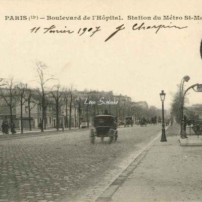 JH 416 - Boulevard de l'Hôpital - Station St-Marcel