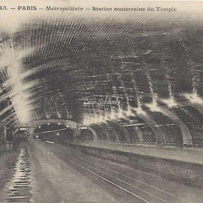 JH 443 - Metropolitain - Station souterraine du Temple