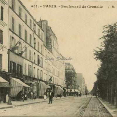 JH 451 - Boulevard de Grenelle