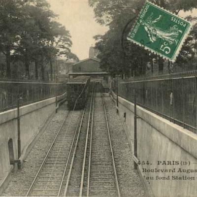 JH 454 - Métropolitain - Boulevard Auguste Blanqui, Station Corvisart