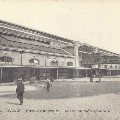 JH 492 - Gare d'Austerlitz - Sortie du Métropolitain