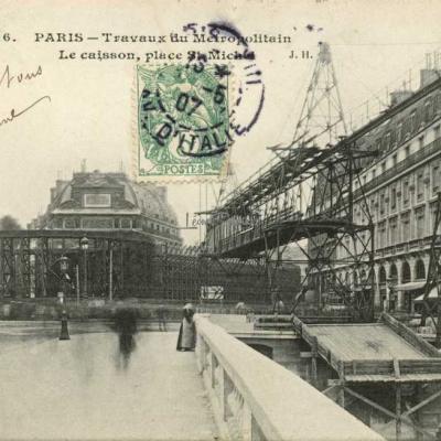 JH 516 - Le caisson, place St-Michel