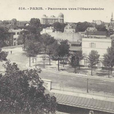 JH 516 - Panorama vers l'Observatoire