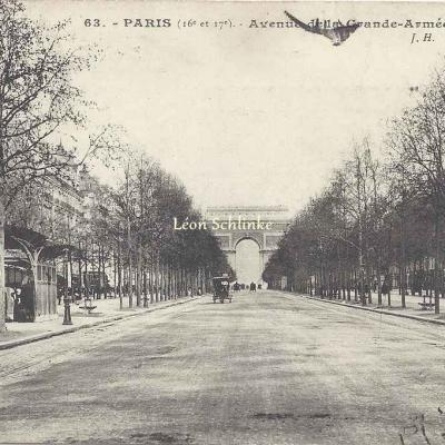 JH 63 - Avenue de la Grande-Armée