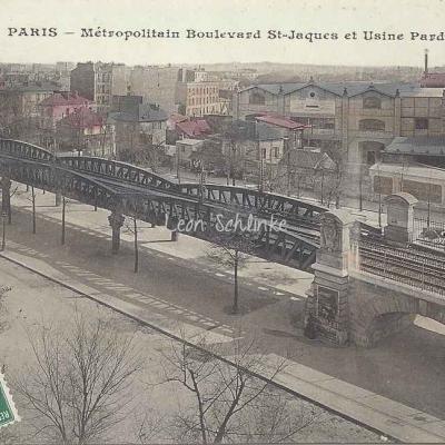 JH 675 - Boulevard St-Jacques et Usine Pardon