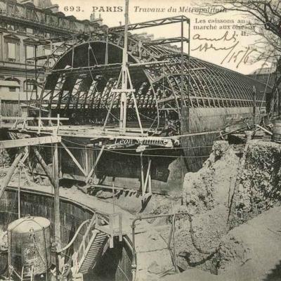 JH 693 - Travaux au Marché aux Oiseaux