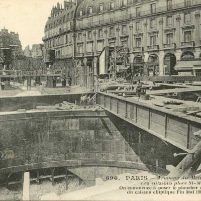 JH 696 - Les Caissons Place Saint-Michel