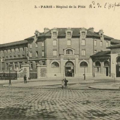 Arnold E. édit 3 - PARIS - Hôpital de la Pitié