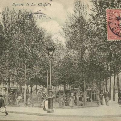 JH 72 - PARIS - Square de La Chapelle