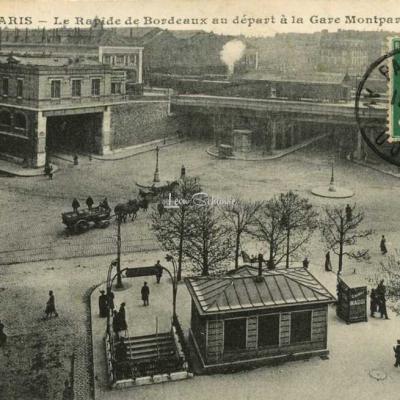 JH 743 - Le Rapide de Bordeaux au départ à Montparnasse